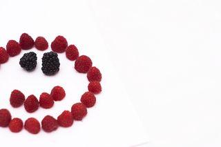 Raspberry face